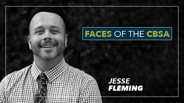 Faces of the CBSA: Jesse Fleming