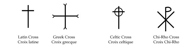 Examples of tradional crosses
