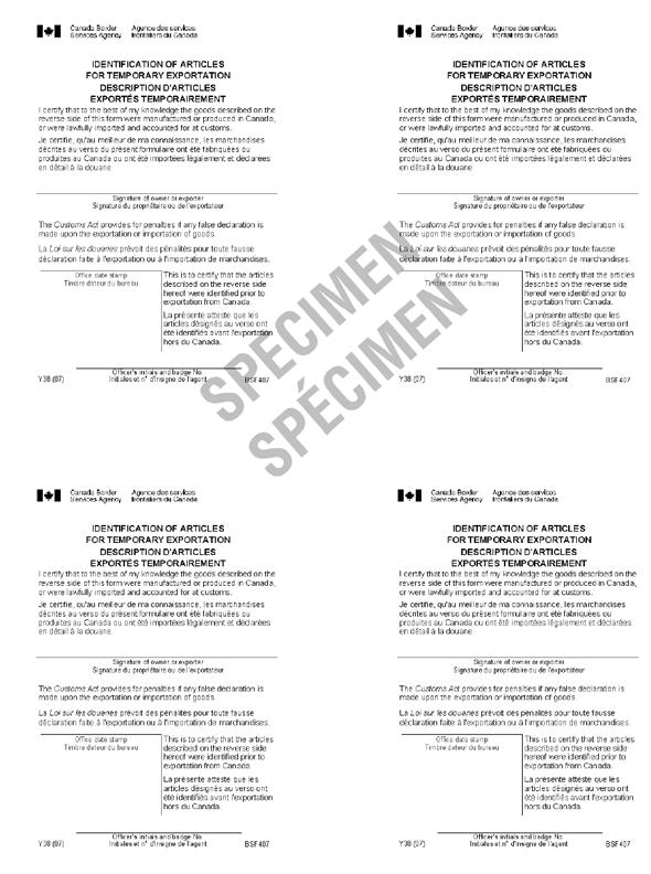 D2014 Memorandum Proof Of Export Canadian Ownership And Export – Export Agreement Sample