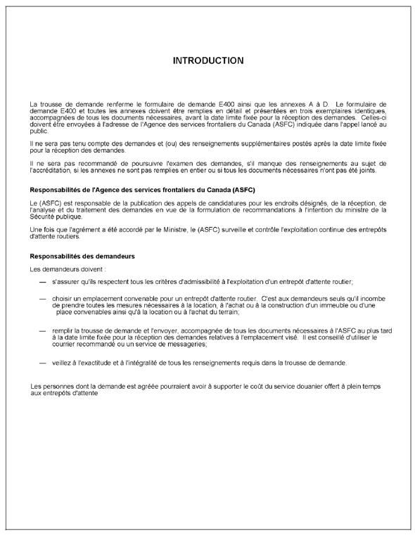 modele de lettre pour modification d agrément Mémorandum D4 1 4   Entrepôts d'attente des douanes modele de lettre pour modification d agrément