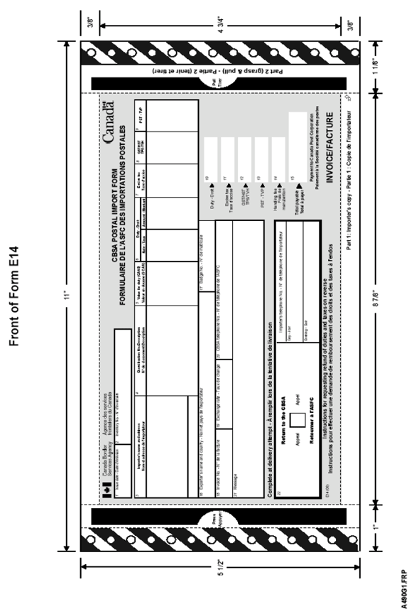 D5-1-1 - Customs International Mail Processing System