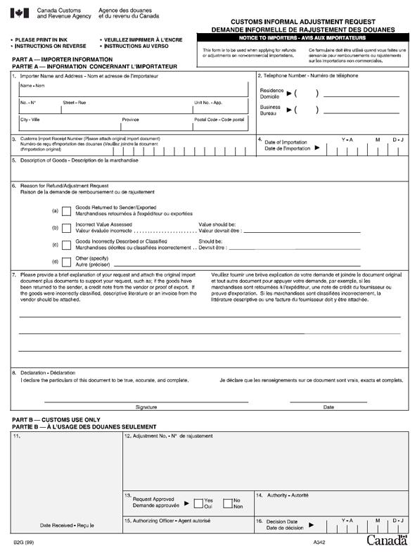 Memorandum D5-1-1 - Customs International Mail Processing System